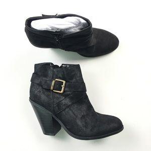 Banana Republic Women's Black Zip Boots 6 B09